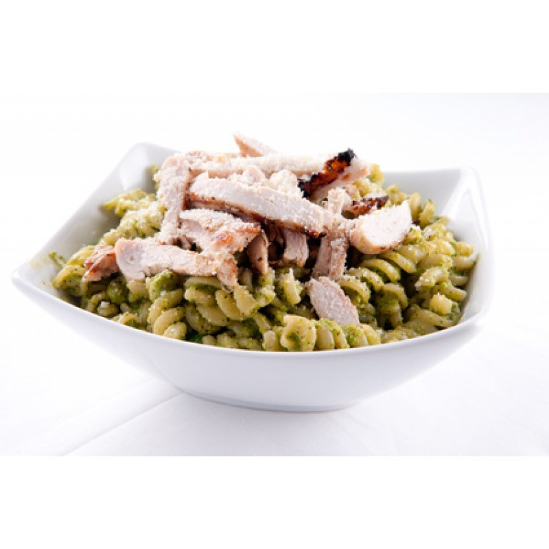 how to cook pesto pasta chicken